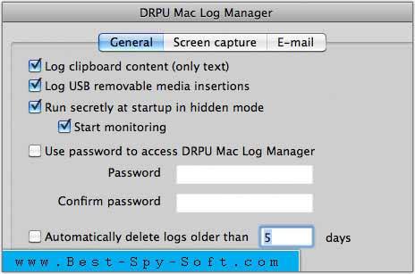 Remote Mac KeyLogger Tool records PC activity