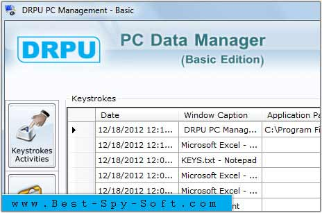 Remote Keylogger