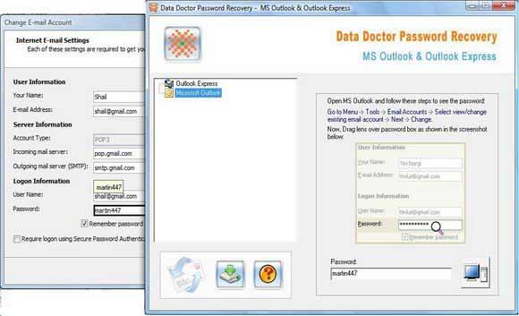 Recover PST Password screenshot