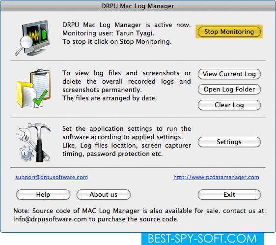 How Mac keylogger apps works to monitor Mac OS X key logger